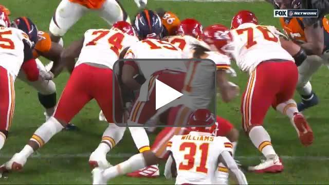 [Highlight] Close-up replay of Mahomes injury