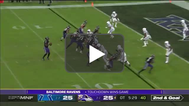 [Highlight] Lamar Jackson hits Marquise Brown for the game-winning TD!