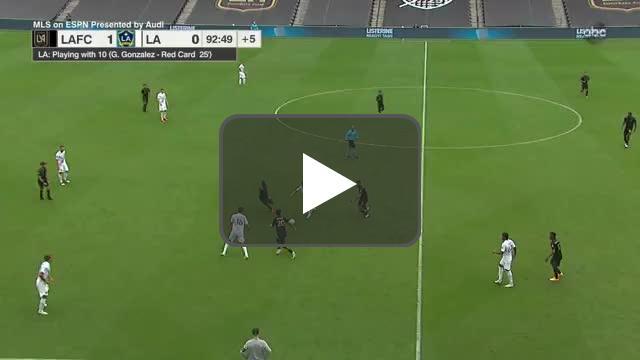 LAFC 2-0 LA Galaxy - Vela 90'+3'