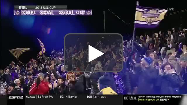 Luke Spencer goal vs. Pheonix Rising FC (1-0)