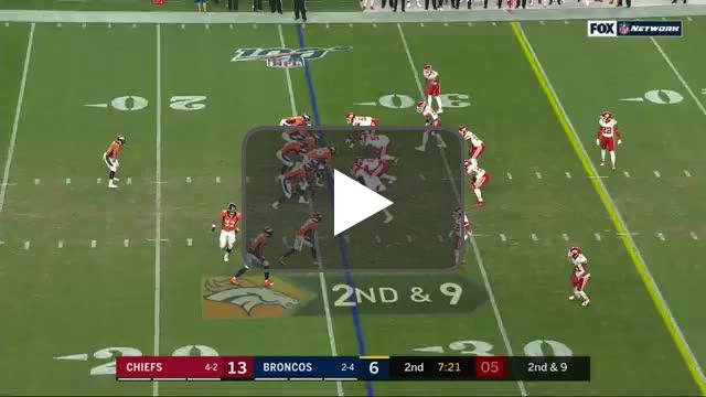 [Highlight] Hitchens strip sacks Flacco, Ragland scoops it up for the score!