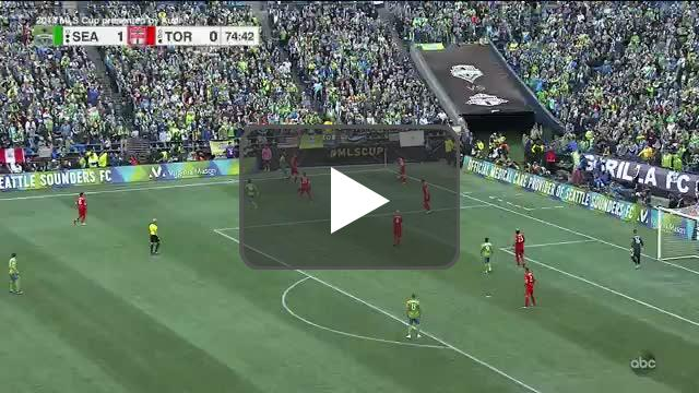 Seattle Sounders [2]-0 Toronto FC | Victor Rodriguez 75' | MLS Cup Final
