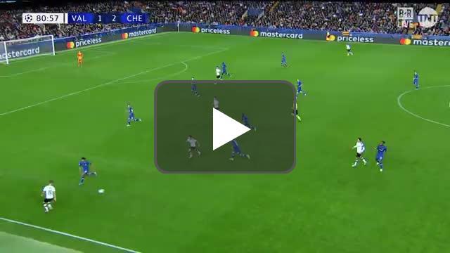 Valencia [2]-2 Chelsea - Wass 82' (Great Goal)