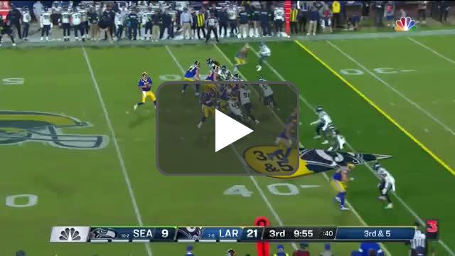 [Highlight] Quandre Diggs with his second pick of the night!
