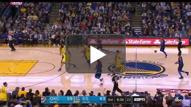 NBA Basketball: Oklahoma City Thunder at Golden State