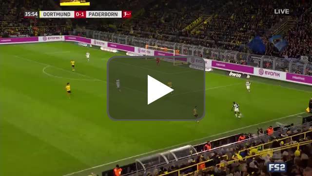 Borussia Dortmund 0-2 Paderborn - Mamba 37'