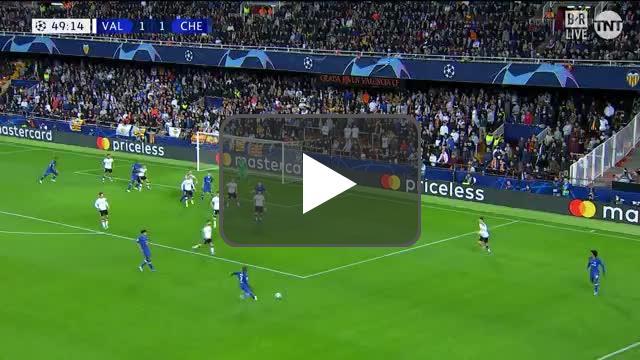 Valencia 1-[2] Chelsea - Pulisic 50'