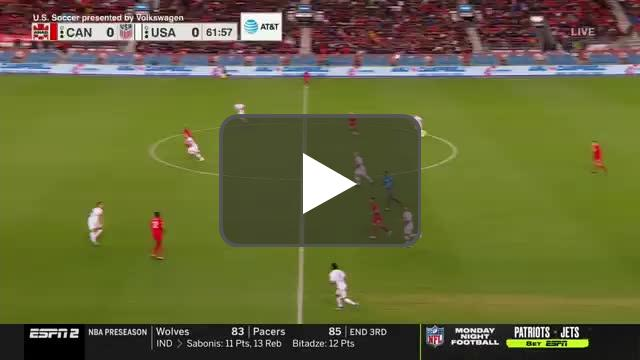 Canada [1]-0 USA | Alphonso Davies 63'