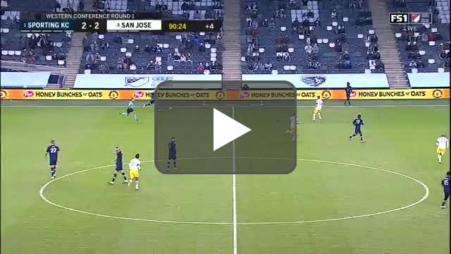 Sporting KC [3]-2 San Jose Earthquakes - Gianluca Busio 90+1'