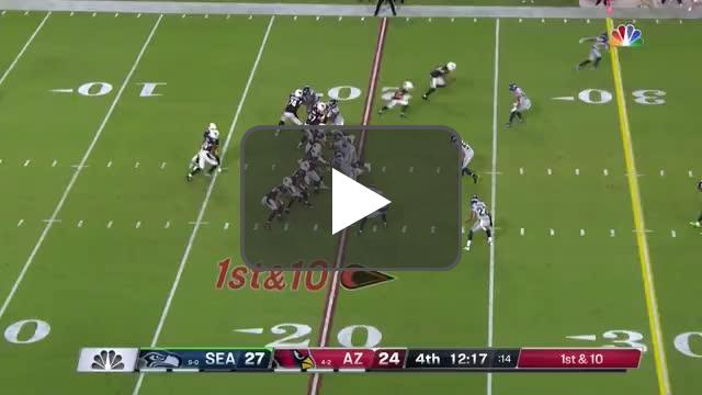 [Highlight] Kyler Murray gives it right back to the Seahawks.