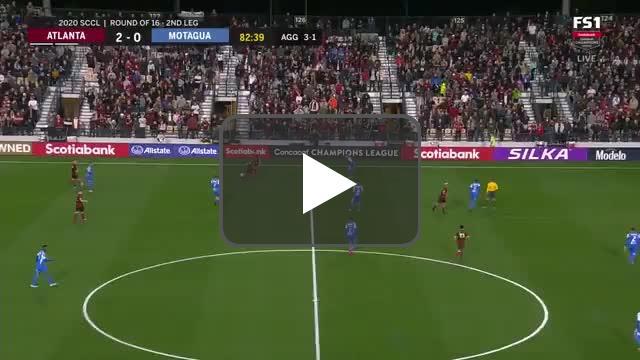 Atlanta United [3]-0 Motagua (4-1 on aggregate) | Pity Martinez 83'