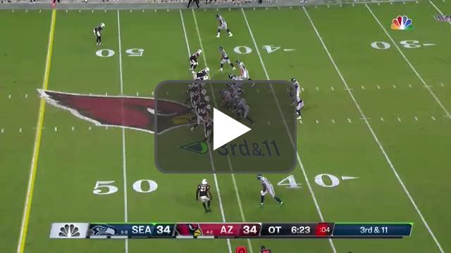[Highlight] Russell Wilson gets sacked again on 3rd and 11