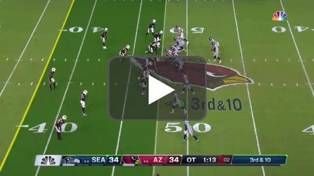 [Highlight] Russ hits DK for a potential game-winning TD, but gets negated due to offensive holding.