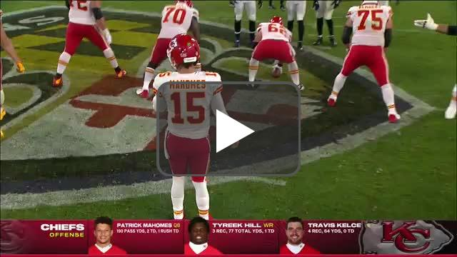 [Highlight] Mahomes finds a wide open Mecole Hardman for another touchdown!