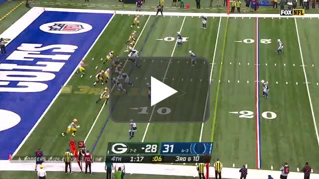 [Highlight] Rodgers hits MVS deep in third and 10!