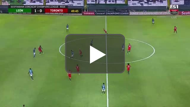 Leon 1-[1] Toronto - Andres Mosquera own goal 50' (great goal)