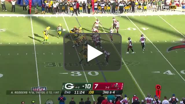 [Highlight] Mike Edwards picks off the tipped Rodgers pass