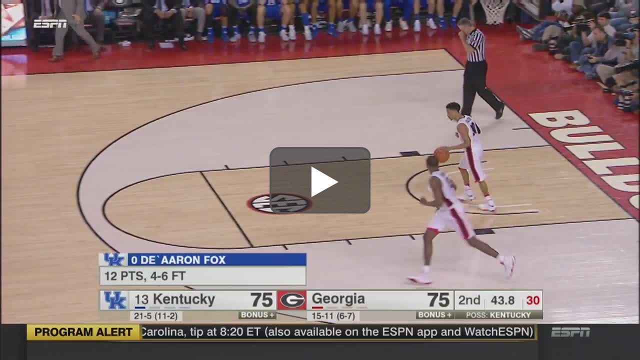 College Basketball: Virginia at North Carolina   ESPN   Clippit