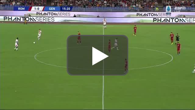 Roma 1-[1] Genoa | Pinamonti 16'