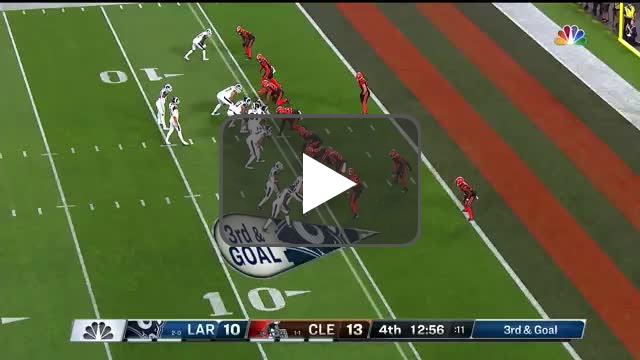 [Highlight] Goff with an easy TD pass to Kupp