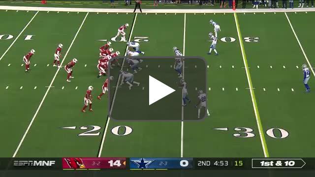 [Highlight] Kyler hits Kirk for the deep TD!