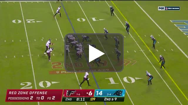 [Highlight] Matt Ryan takes it in himself, passing Troy Aikman with 10 career rushing TDs