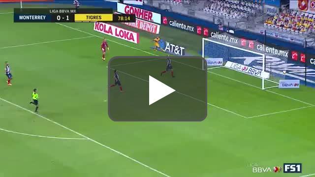 Monterrey 0 - 2 Tigers - López 79'
