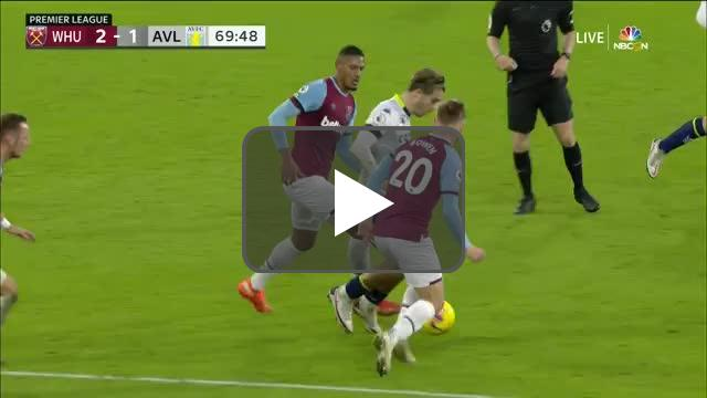 Grealish skill vs West Ham