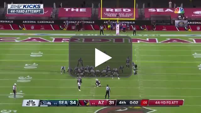 [Highlight] Zane Gonzalez with the 44-yard FG to send it into OT!