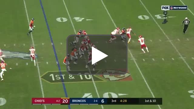 [Highlight] Matt Moore to tyreek Hill for the 57 yard TD