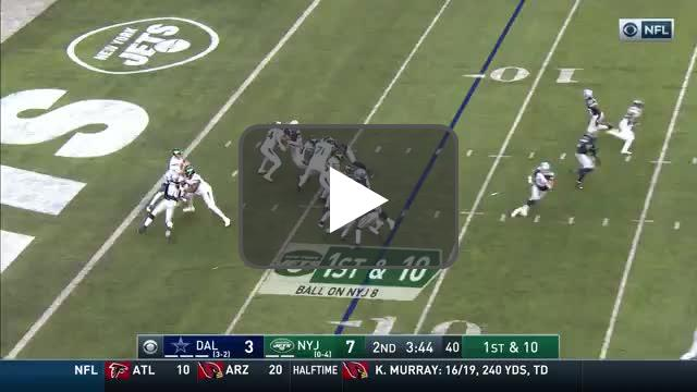 [Highlight] Darnold to Robby Anderson for 92 yards!