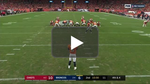[Highlight] Denver attempts a fake punt