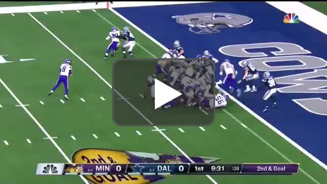 [Highlight] Rudolph with an unreal TD catch