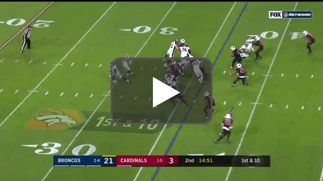 [Highlight] Case Keenum airs it out to a wide open Emmanuel Sanders for a 64-yard TD