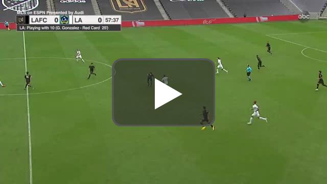 LAFC 1-0 LA Galaxy - Musovski 58'