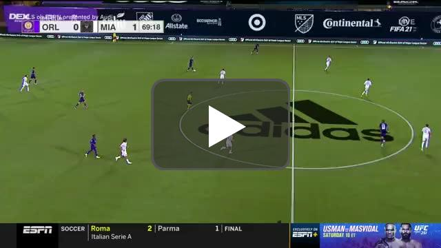 Orlando City [1]-1 Inter Miami - Chris Mueller 70'