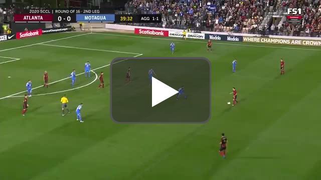 Atlanta United [1]-0 Motagua (2-1 aggregate) | Pity Martinez 40' | CONCACAF Champions League