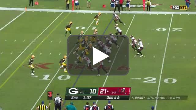 [Highlight] Brady to Gronk touchdown!