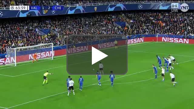 Kepa penalty save vs Valencia