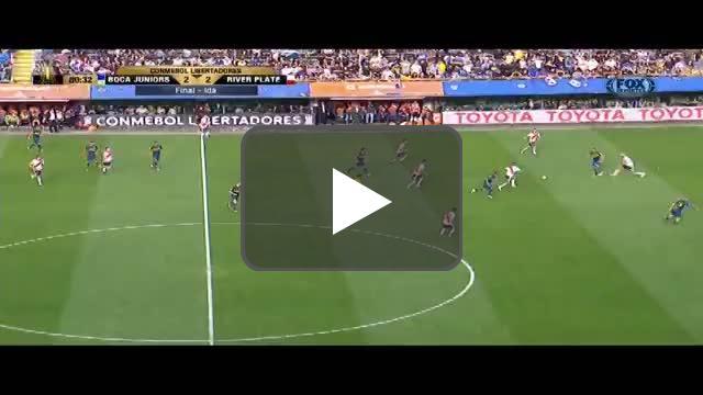Franco Armani great save vs. Boca Juniors