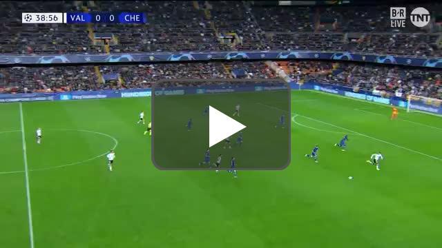 Valencia 1-0 Chelsea - Carlos Soler