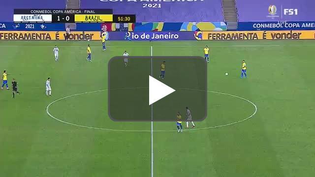 Richarlison disallowed goal vs Argentina 52'