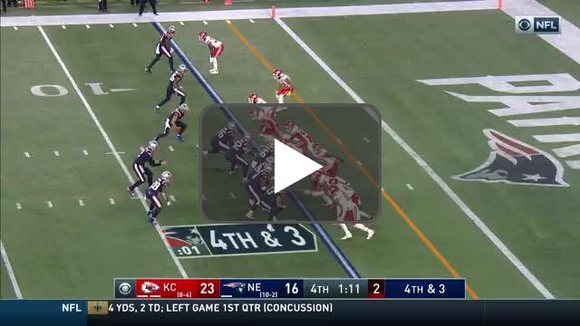 [Highlight] Bashaud Breeland puts an end to the Patriots comeback attempt