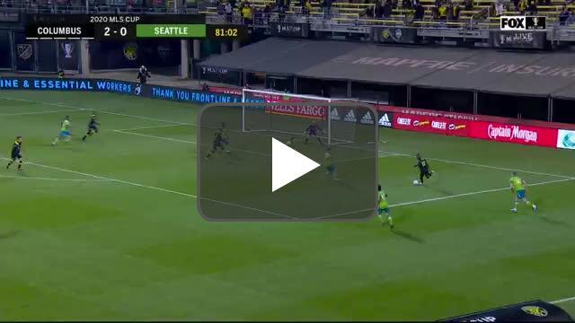 Columbus Crew 3-0 Seattle Sounders - Lucas Zelarayan 82' - MLS Cup Final